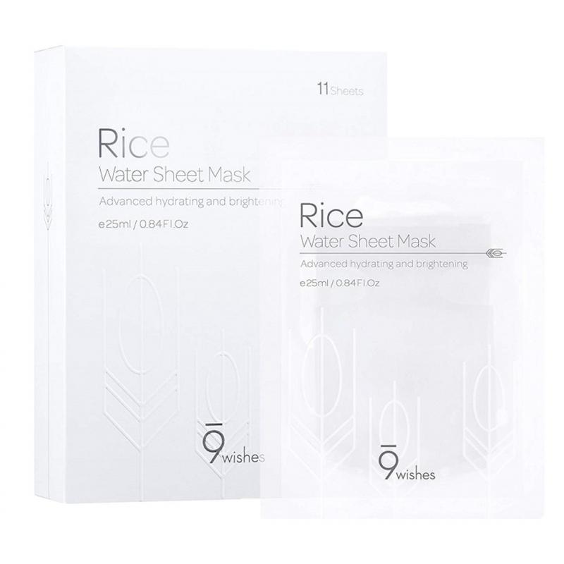 Mặt nạ gạo 9 Wishes Rice Water Sheet Mask 25ml