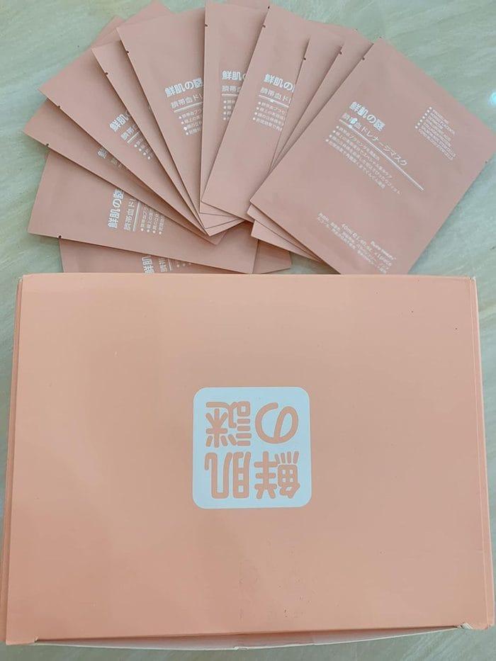 Mặt Nạ Tế Bào Gốc Nhau Thai Rwine Beauty Steam Cell Placenta Mask Nhật Bản