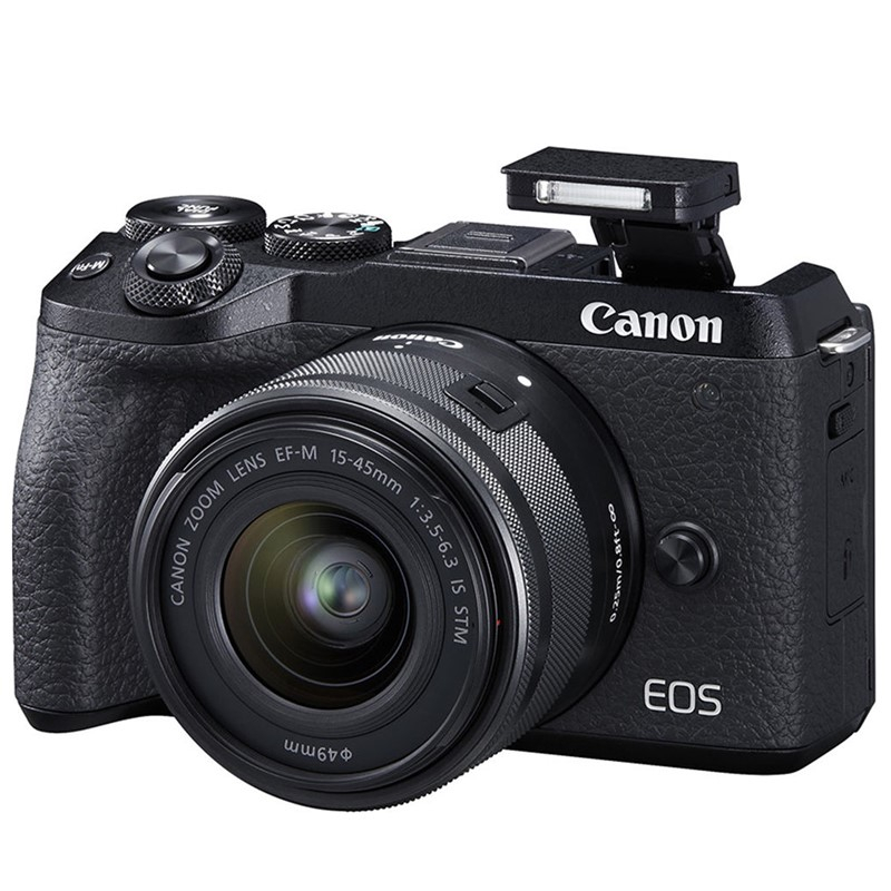 Máy Ảnh Canon EOS M6 Mark II Kit EF-M15-45mm F3.5-6.3 IS STM
