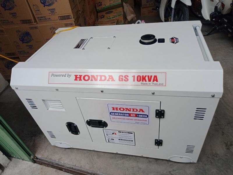 Máy Phát Điện Honda Chạy Dầu 10KVA Siêu Chống Ồn