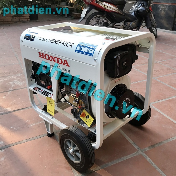 Máy Phát Điện Honda Chạy Dầu 3kw HD3900E