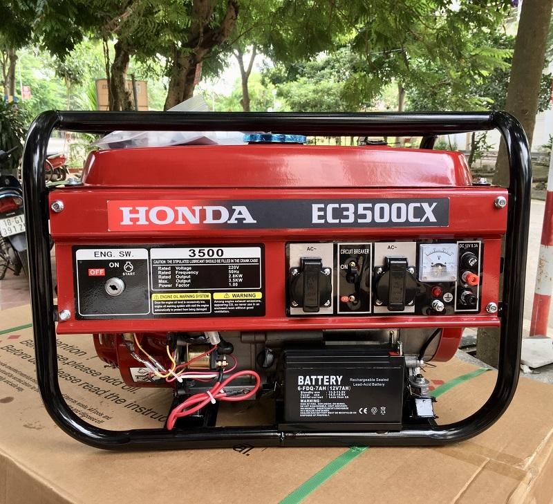 Máy Phát Điện Honda Chạy Xăng 3kw EC3500CX