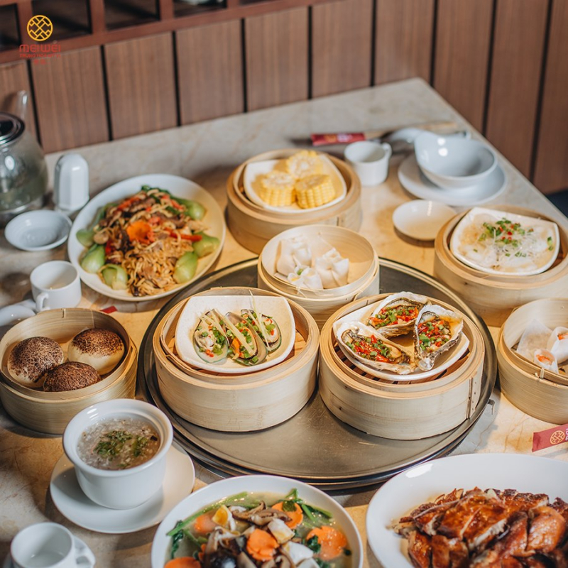 Top 10 Nhà hàng Dimsum Trung Quốc ngon nhất tại TP. Hồ Chí Minh