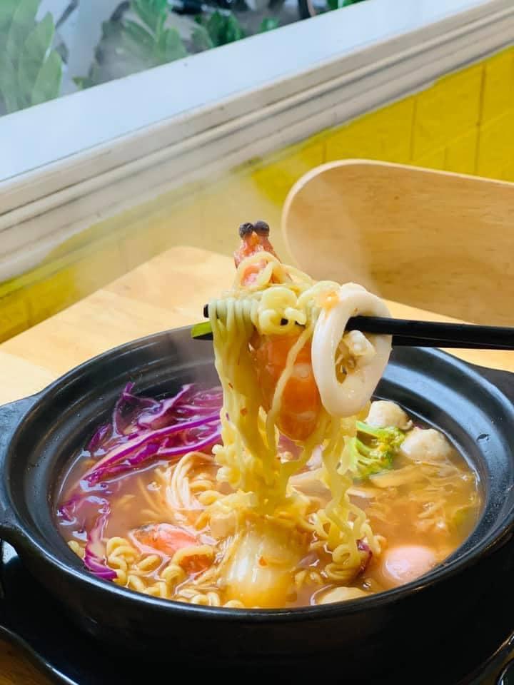 Mì cay tại Kitachi có hương vị thơm ngon chuẩn Hàn