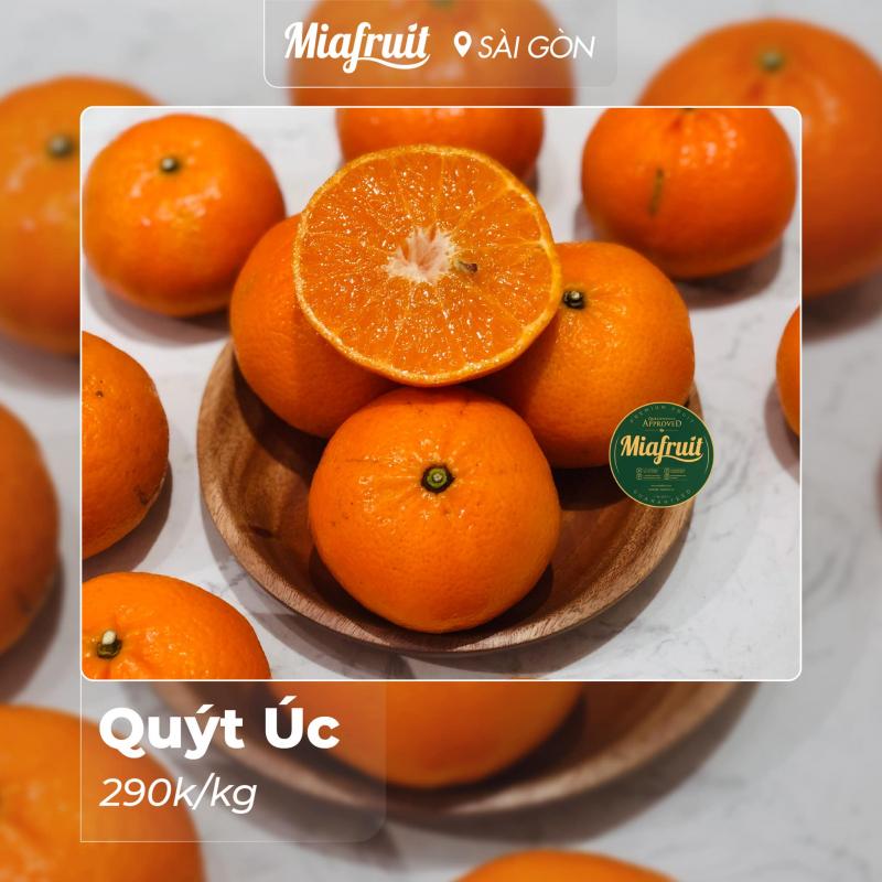Mia Fruit cam kết cung cấp cho các khách hàng của mình 100% sản phẩm tươi ngon loại 1