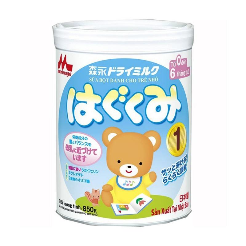 Sữa Morinaga dành cho trẻ từ 0 - 6 tháng tuổi.