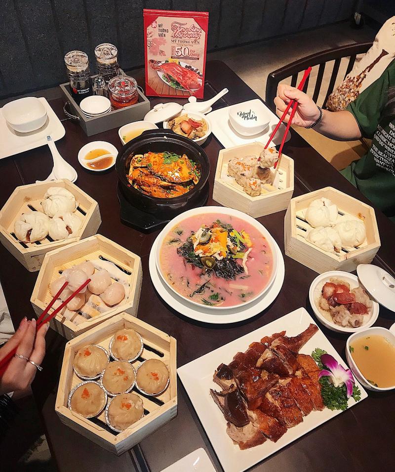 Vô số các món ăn ngon nổi tiếng được hội tụ tại Mỹ Tường Viên