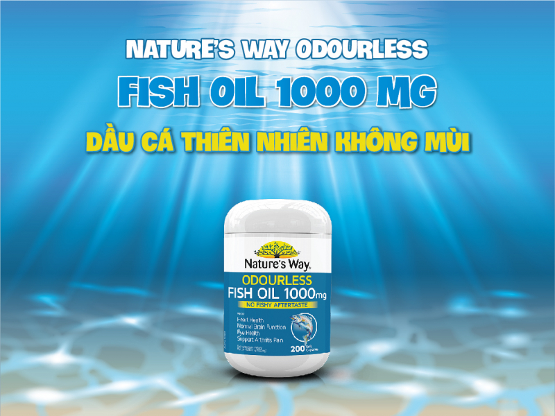 Nature's Way Odourless Fish Oil