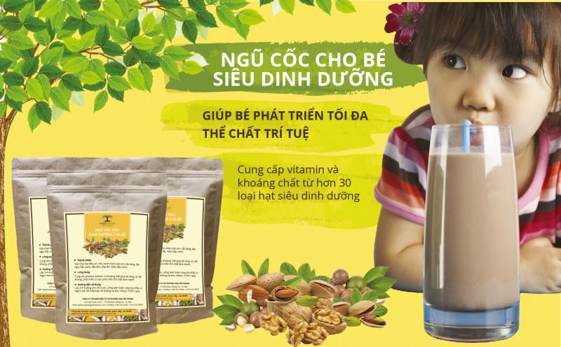 Ngũ cốc Queen Nature đem lại nguồn dinh dưỡng tuyệt vời cho sự phát triển của trẻ