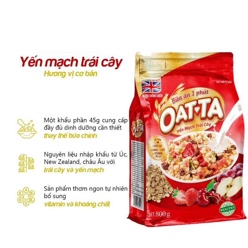 Ngũ cốc Yến mạch trái cây OATTA