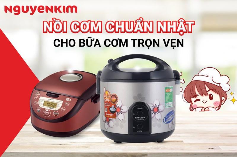 Nếu muốn sở hữu một chiếc nồi cơm điện thì quả là một điều khá dễ dàng khi bạn đến mua sắm tại Nguyễn Kim