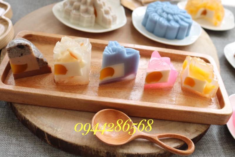 Những loại bánh đều làm từ tự nhiên đa sắc màu