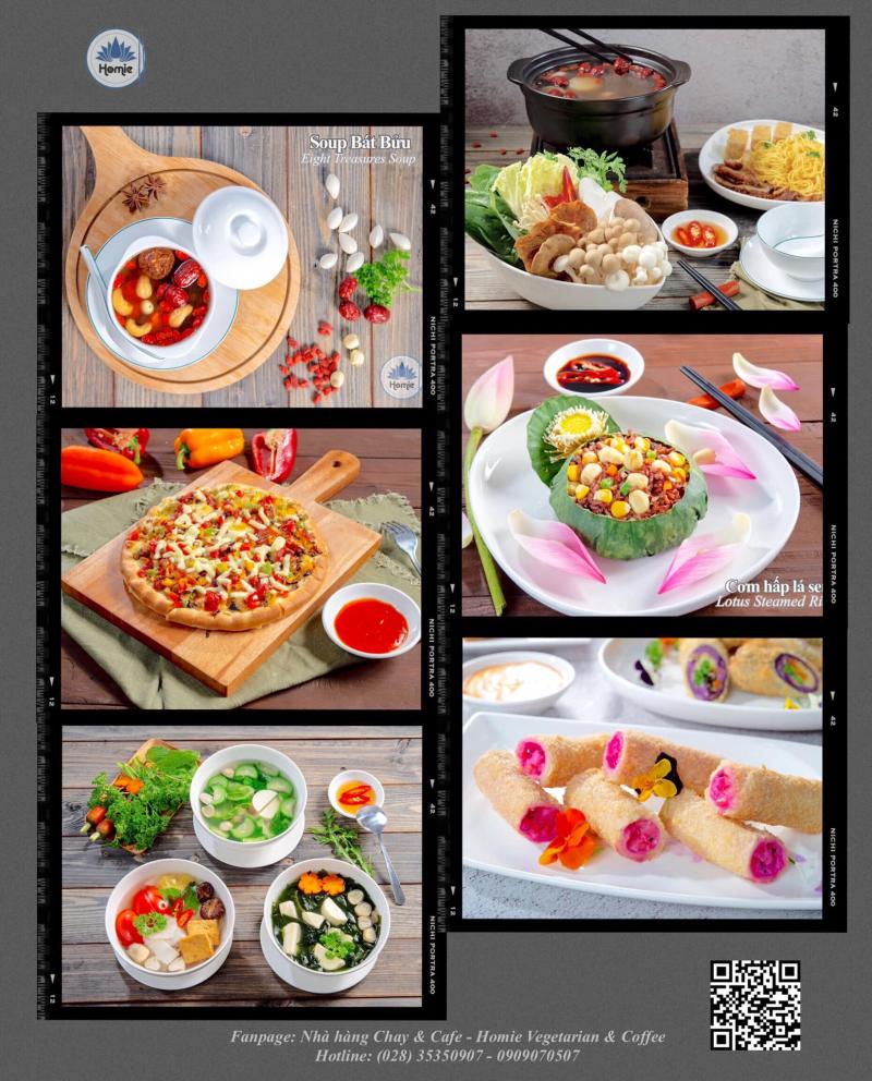 Nhà hàng Chay & Cafe - Homie Vegetarian & Coffee