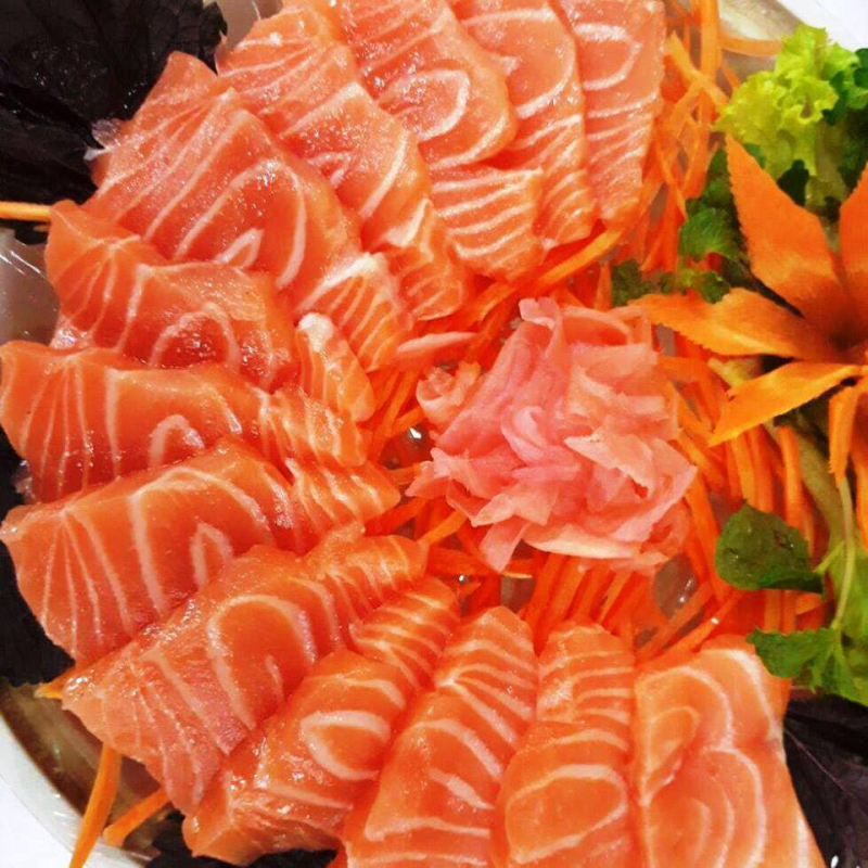 Món gỏi cá tươi