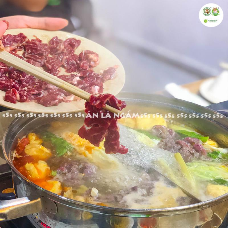 Nhà hàng lẩu Bò nhúng dấm 555