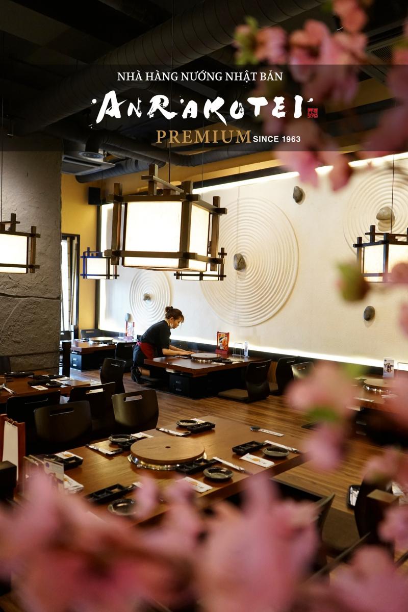 Nhà hàng thịt nướng Anrakutei Việt Nam