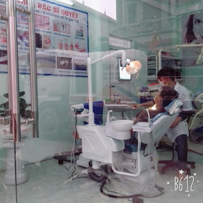 Nha khoa Bác sĩ Quyết