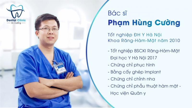 Bác sĩ Hùng Cường của phòng khám