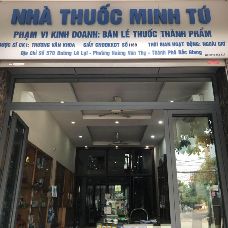 Nhà Thuốc Minh Tú Bắc Giang