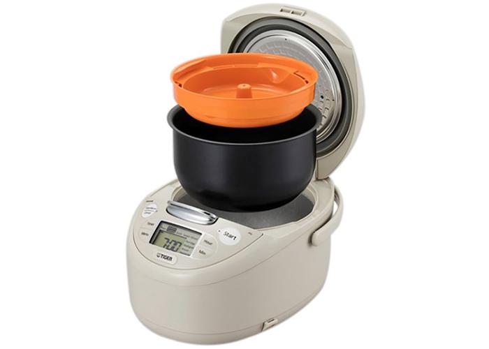 Tiger JAX-R10W sẽ giúp cho công việc nấu cơm của gia đình bạn diễn ra nhanh chóng, luôn có được những hạt cơm thơm ngon nóng hổi