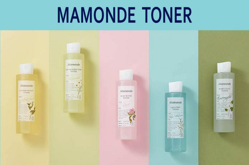 Nước cân bằng làm dịu da nhạy cảm Mamonde Toner