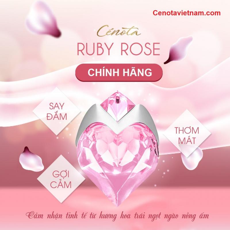Nước hoa nữ Cénota Ruby Rose