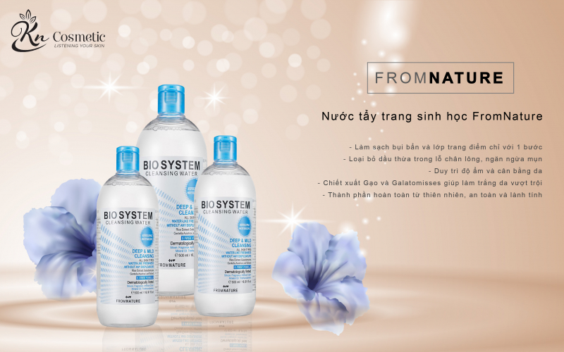 Nước Tẩy Trang From Nature Bio System Cleansing Water