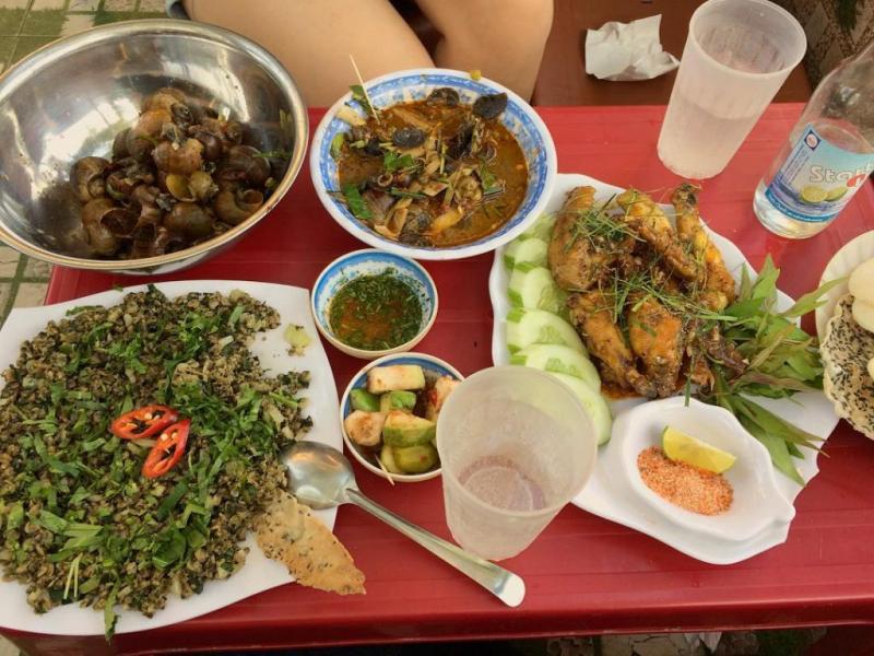 Top 5 Quán ốc ngon, nổi tiếng nhất TP. Đồng Hới, Quảng Bình