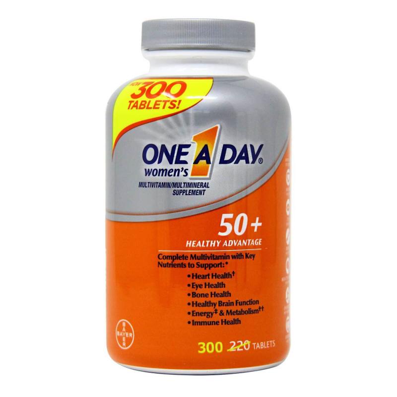 One A Day Women's 50+ Heathy Advantage