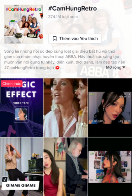 Huyền thoại ABBA trở lại, đưa trend Retro lên xu hướng TikTok Việt Nam