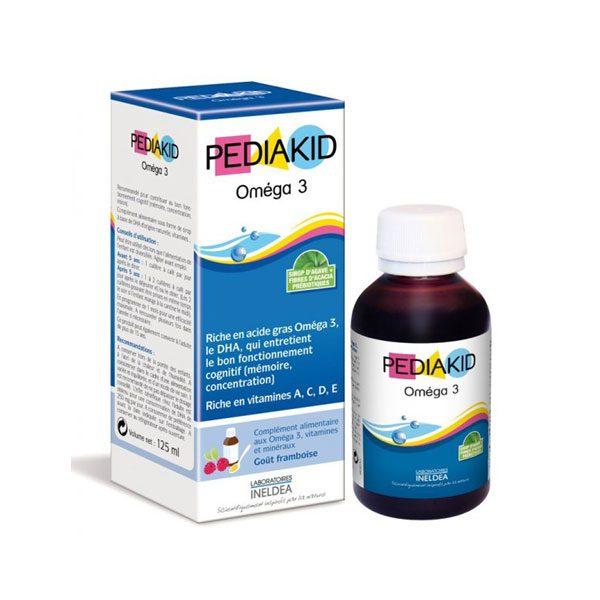 Pediakid Omega 3 – Giúp trẻ phát triển trí não vượt trội của Pháp