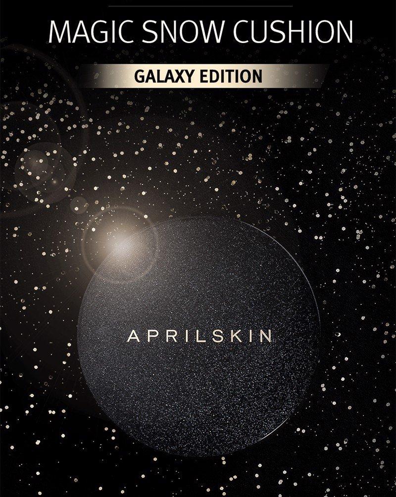 Phấn Nước April Skin Black Magic Snow Cushion Galaxy Edition