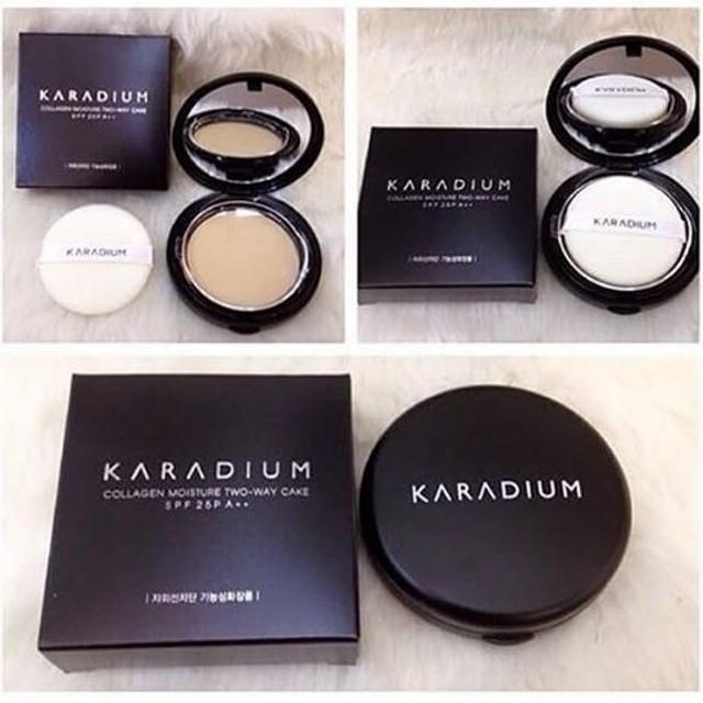 Hộp Phấn Tươi Karadium Essence Cover Foundation Pact SPF30 PA++