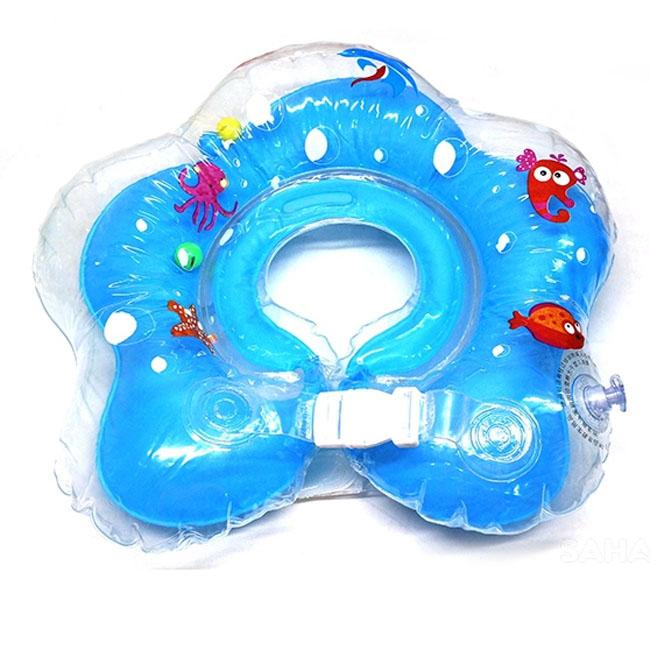 Phao bơi đỡ cổ chống lật được thiết kế đặc biệt cho bé dưới hai tuổi.