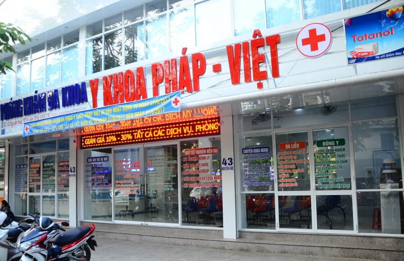 Phòng khám đa khoa Y khoa Pháp Việt
