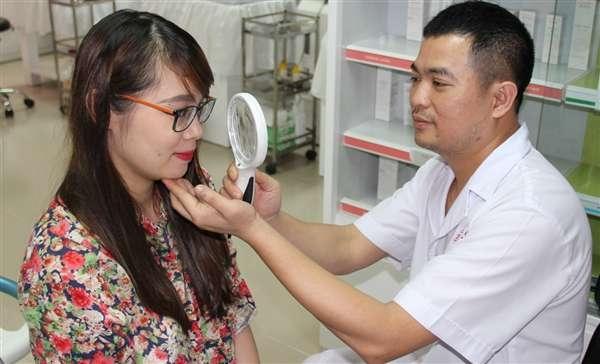 Chuyên khám và chữa trị các vấn đề về da