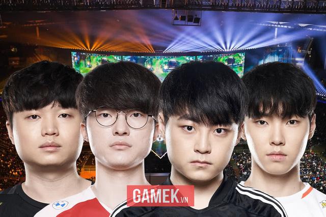 """4 tuyển thủ đường giữa hàng đầu LCK đều góp mặt ở CKTG, một mình Doinb liệu có đủ sức lật đổ """"Tứ Thiên Vương""""?"""