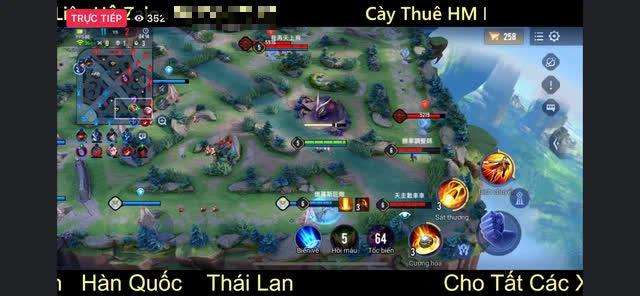 Livestream hack map phiên bản mới Liên Quân, người xem khủng hơn cả Bé Chanh, bình luận thách thức Garena