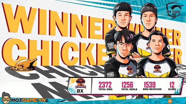 PMPL VN S4 Super Weekend 3 ngày 2: BX thăng hoa, BOX độc chiếm ngôi đầu bảng
