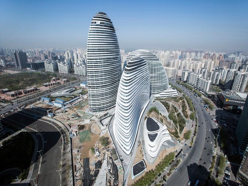 Galaxy Soho ở Bắc Kinh Trung Quốc.