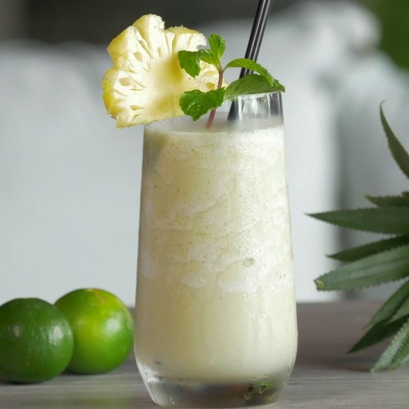 Sinh tố thơm sữa chua