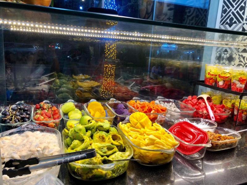 Nhiều loại trái cây bổ dưỡng cho sức khỏe