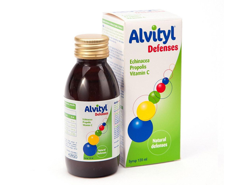 Siro Alvityl Defenses bổ sung vitamin C