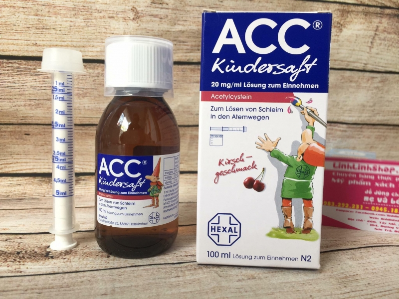 Siro ho ACC Kindersaft là một loại thuốc ho cho trẻ em đến từ Đức