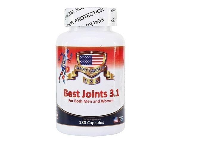 Best Joints 3.1 hỗ trợ đìều trị các bệnh về khớp xương