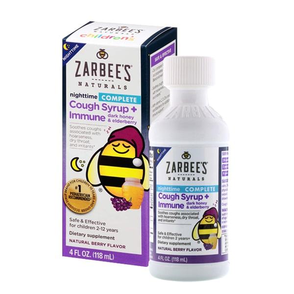 Zarbee's Children's Nightime là siro ho chuyên dùng ban đêm