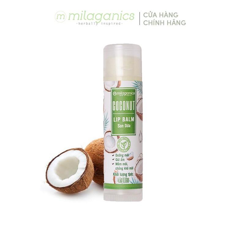 Son dưỡng môi Dừa MILAGANICS