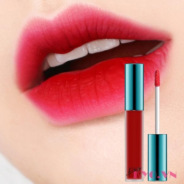 Son kem lì Bbia Last Velvet Lip Tint Version 1 màu 03 Extra Red (Màu đỏ hồng)