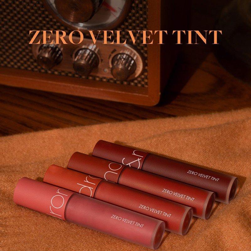 Son Kem Lì rom&nd Zero Velvet Tint