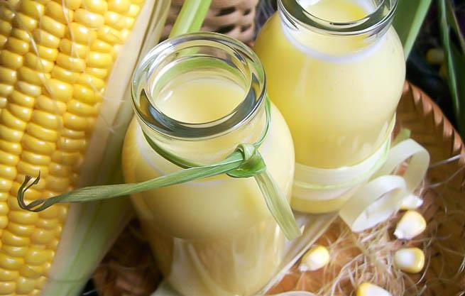 Sữa ngô tốt cho mẹ bầu